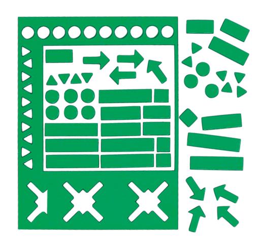 magnetsymboler grön