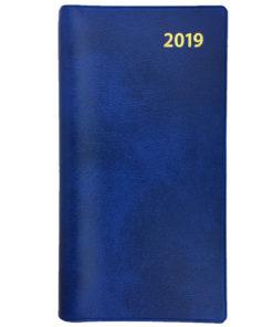 Kyrkoåret almanacka blå