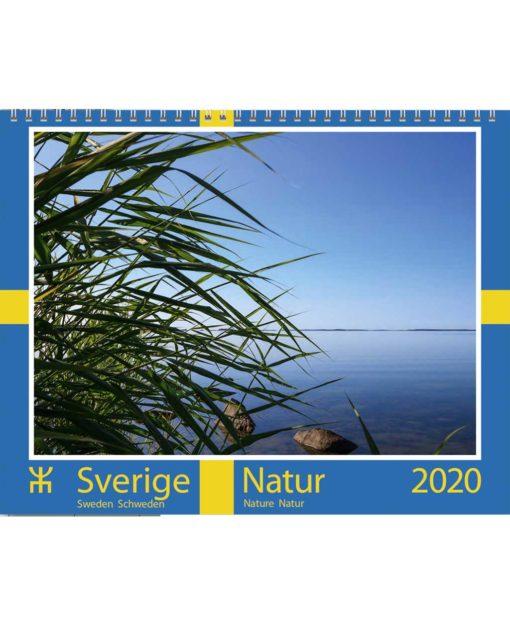 Väggkalender Svensk natur