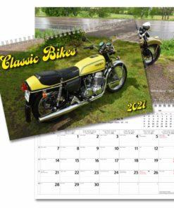 Classic Bikes - väggkalender från Gullers