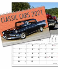 Classic Cars väggkalender från Gullers