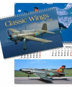 Classic wings - väggkalender från Gullers