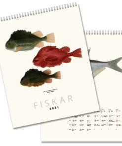 Fiskar - väggkalender från Gullers
