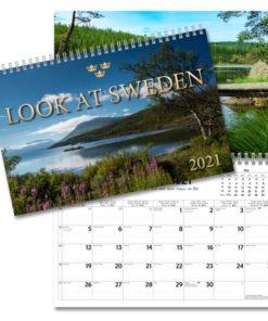 Look at Sweden Väggkalender från Gullers