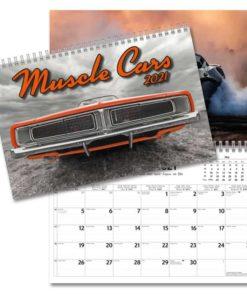 Muscle Cars - Väggkalender från Gullers