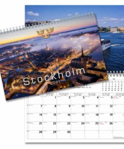 Stockholm - väggkalender från Gullers