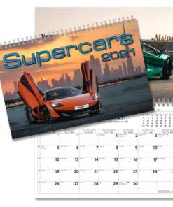 Supercars - väggkalender från Gullers