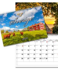 Lilla Sverigekalendern från Gullers